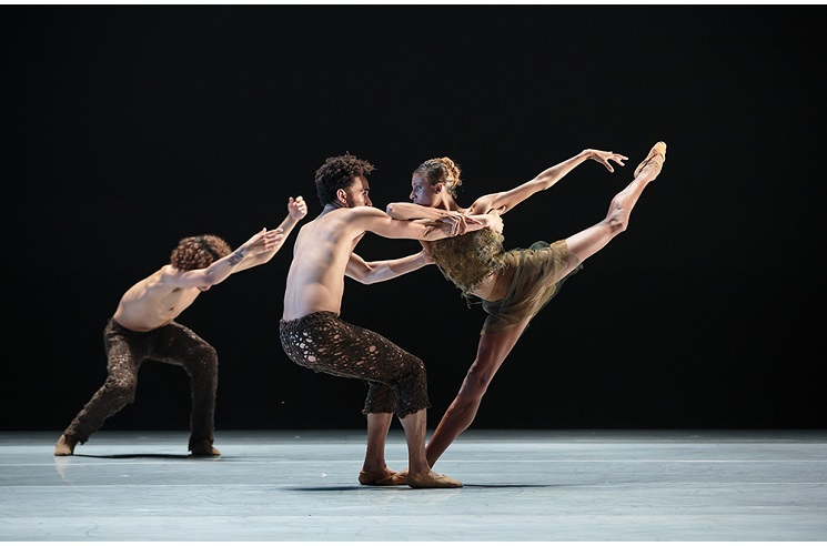 illustration de  Alonzo King LINES Ballet