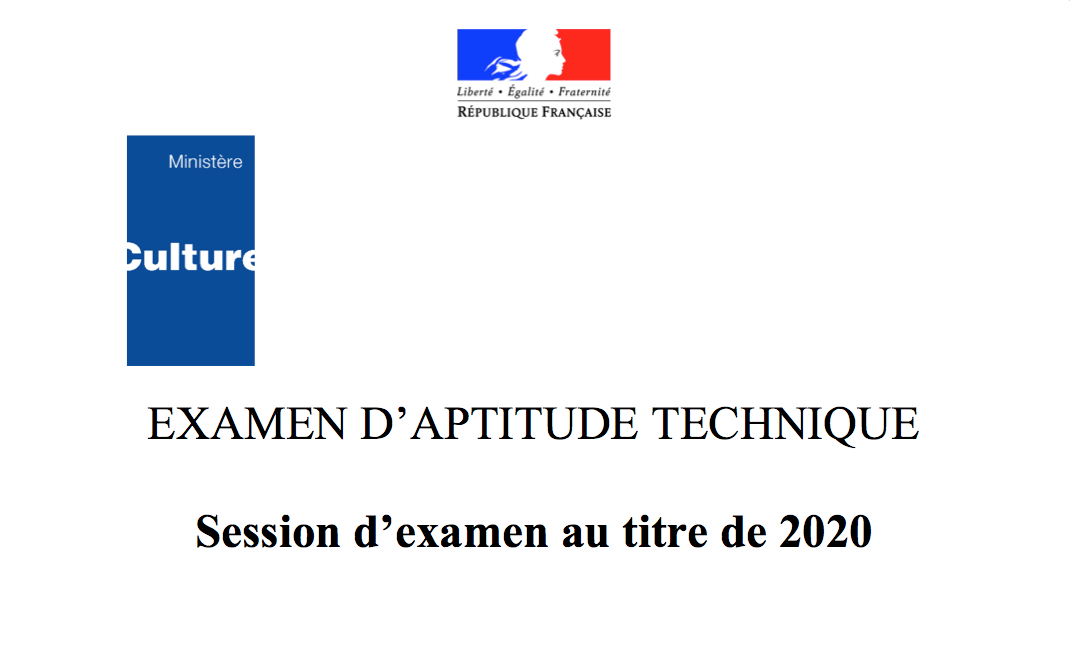 illustration de Examen d'Aptitude Technique à La Réunion
