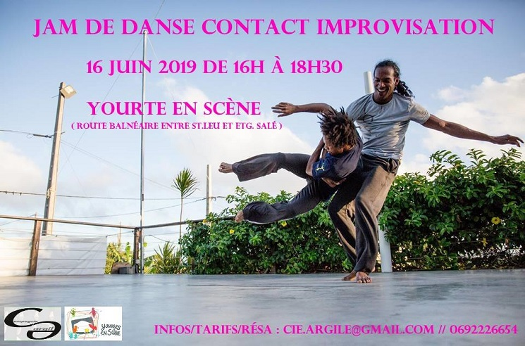 illustration de JAM CONTACT IMPROVISATION