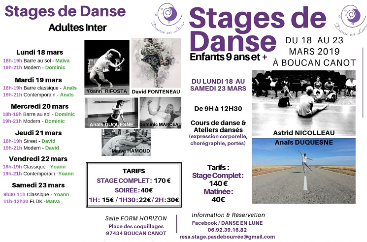 illustration de STAGE DE DANSE
