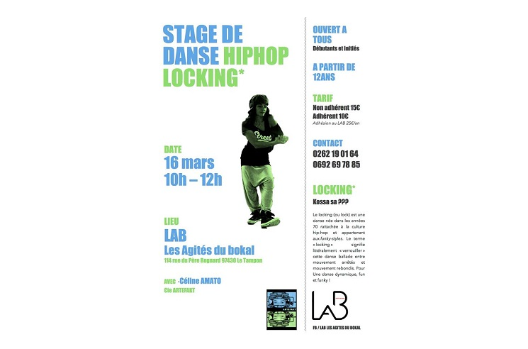 illustration de STAGE HIP-HOP LOCKING