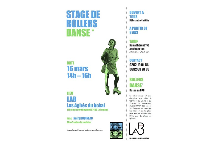 illustration de STAGE ROLLERS DANSE EN SALLE