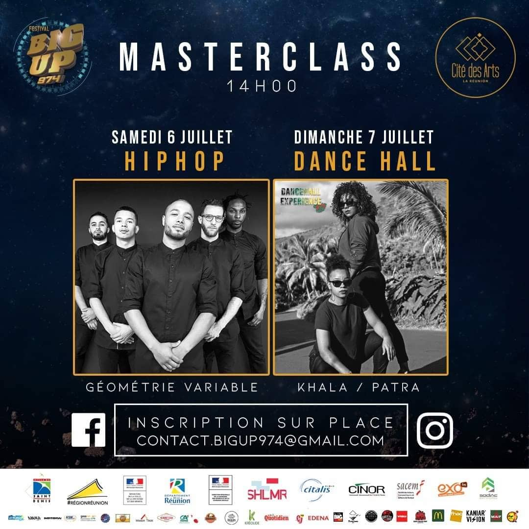 illustration de MASTER CLASS HIP-HOP & DANCEHALL